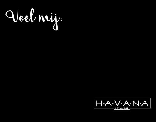 Blind Tasting iedere zondag bij Havana!